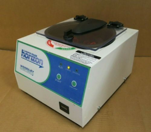 Woodley Equipment Clinispin 642E Horizon Benchtop 3800 RPM Swing Out Centrifuge